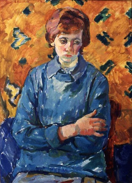 e4 Evgenia Petrovna Antipova (Russian artist, 1917-2009) Lida 1964